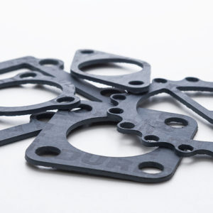 Carbon based non-asbestos gasket material